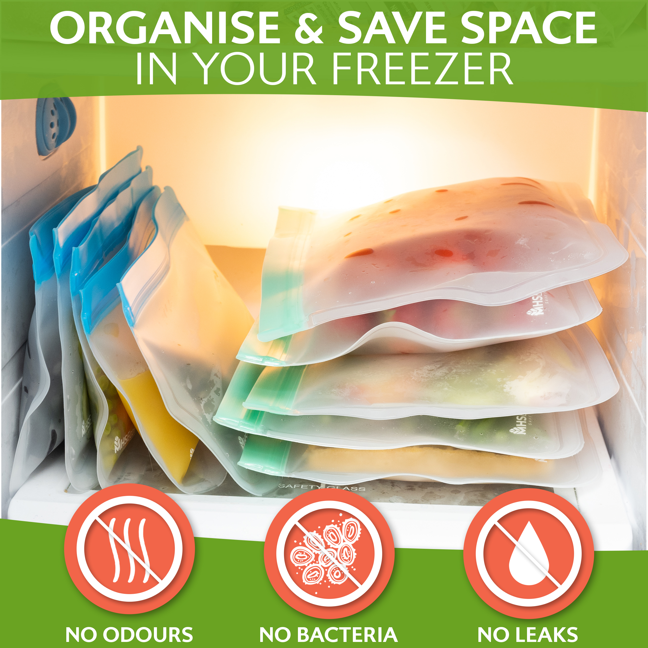 reusable freezer bags