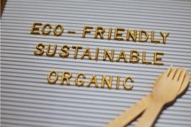 eco friendly sustainable organic